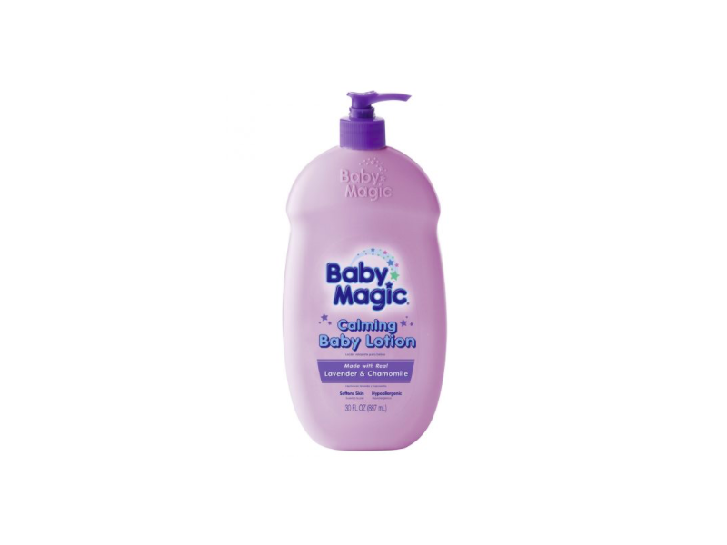 Baby Magic Calming Body Lotion, Lavender & Chamomile, Naterra International, 30 fl oz
