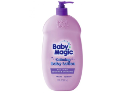 Baby Magic Calming Body Lotion, Lavender & Chamomile, Naterra International, 30 fl oz - Image 1