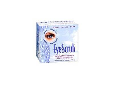 Eye Scrub Sterile Eye Makeup Remover & Eyelid Cleansing Pads - Image 1