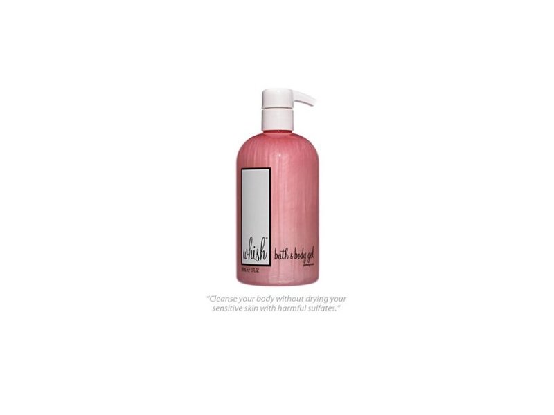Whish Bath & Body Gel, Pomegranate, 13 fl oz