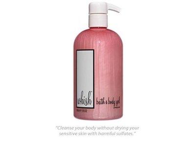 Whish Bath & Body Gel, Pomegranate, 13 fl oz