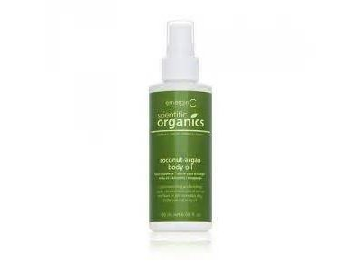 EmerginC Organics Coconut-Argan Body Oil