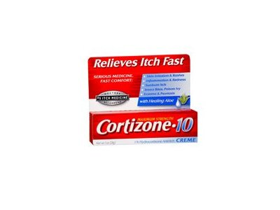 Cortizone-10 Maximum Strength 1% Hydrocortisone Anti-Itch Creme With Aloe, 1 oz (Pack of 2)