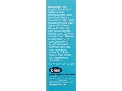 bliss Multi-'Face'-eted All-In-One Anti-Aging Clay Mask, 0.8 oz. - Image 5