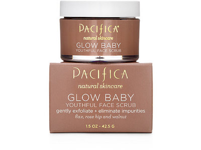Pacifica Glow Baby Youthful Face Scrub, 1.5 oz