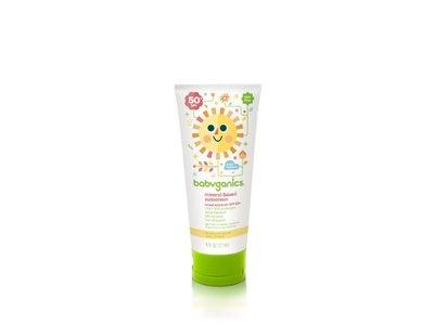 Babyganics Mineral-Based Sunscreen SPF 50, 6 oz (Pack of 2) - Image 1