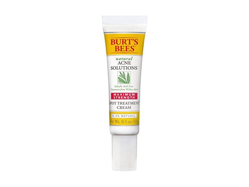Burt's Bees Natural Acne Solutions Maximum Strength Spot Treatment Cream, 0.5 oz