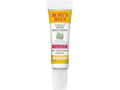 Burt's Bees Natural Acne Solutions Maximum Strength Spot Treatment Cream, 0.5 oz - Image 1