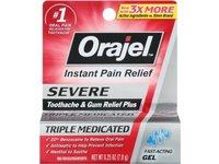 Orajel Severe Toothache & Gum Relief Plus, Cooling Gel, 0.25 Oz - Image 2