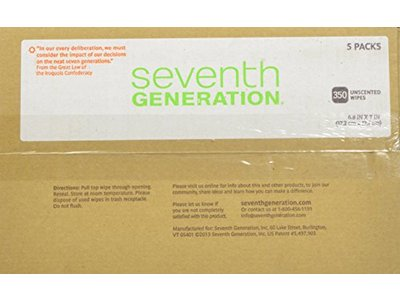 Seventh Generation Original Soft and Gentle Free and Clear Baby Wipes, 350 Count - Image 7