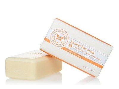 The Honest Co Honest Bar Soap, Tangerine Vanilla - Image 1