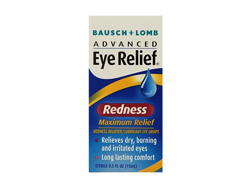 Bausch & Lomb Advanced Eye Relief Maximum Redness Reliver