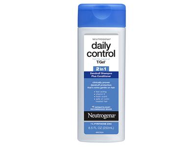 Neutrogena T/gel Daily Control 2-In-1 Dandruff Shampoo Plus Conditioner, Johnson & Johnson - Image 1