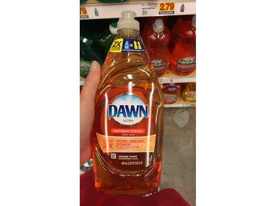 Dawn Ultra Antibacterial Hand Soap/Dishwashing Liquid, Orange Scent, 24 fl oz - Image 7