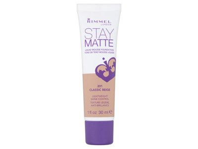 Rimmel Stay Matte Liquid Mousse Foundation, 201 Classic Beige, 1 fl oz