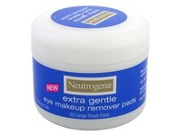 Neutrogena Eye Makeup Remover Large Plush Pads, Extra Gentle, 30 Count (Pack of 2) - Image 2