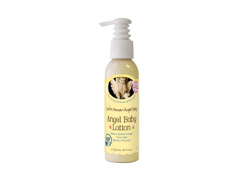 Angel Baby Lotion, Natural Vanilla Orange, 4 oz