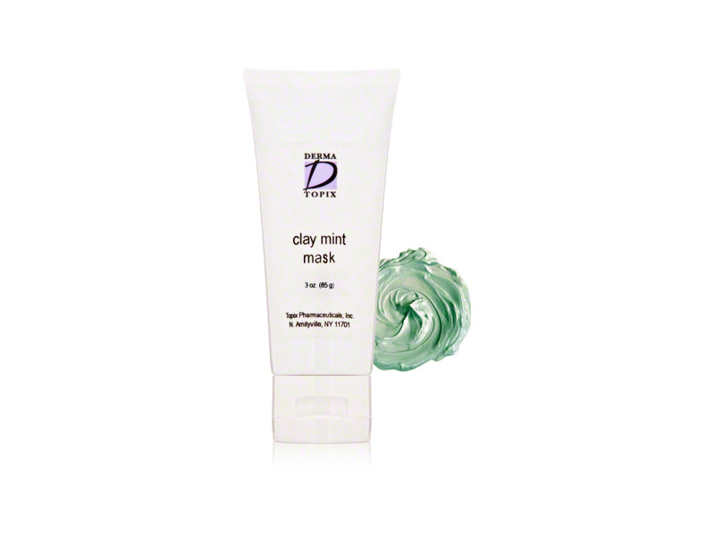 Derma Topix Clay Mint Mask, 3 oz
