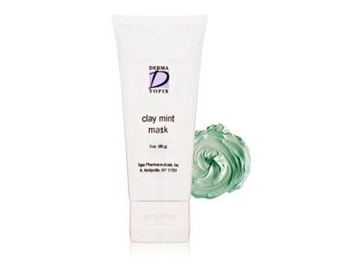 Derma Topix Clay Mint Mask, 3 oz - Image 1