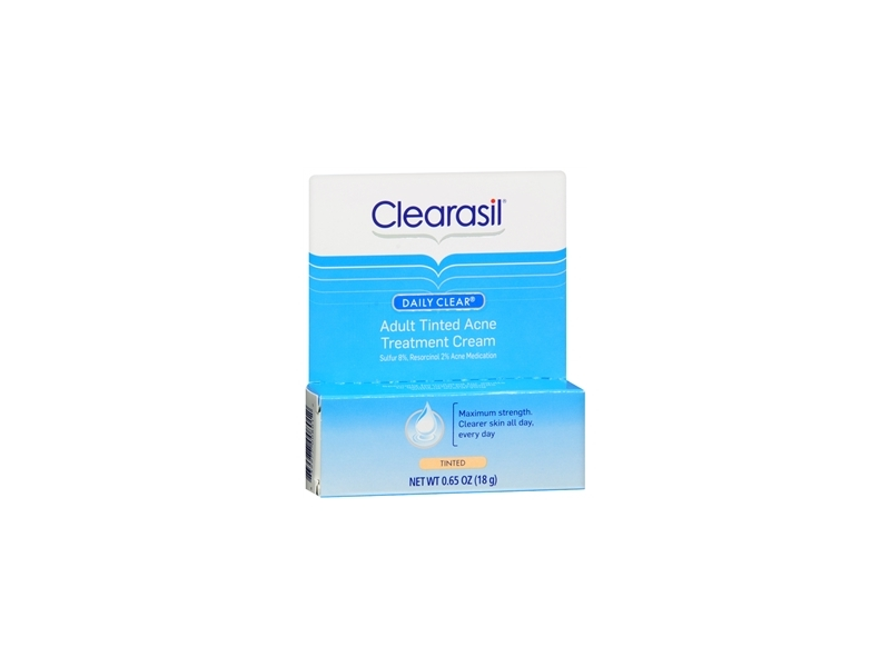 Clearasil Daily Clear Acne Treatment 10% Tinted, Reckittl Benckiser