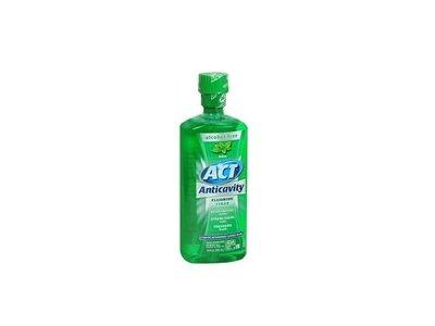 ACT Anticavity Flouride Mouthwash, Alcohol Free - 18 Oz
