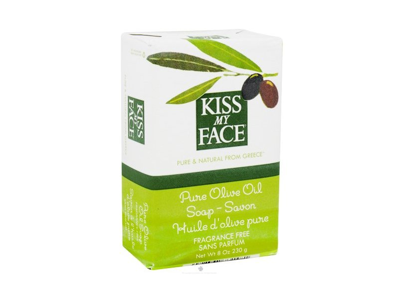 Kiss My Face Olive Bar Soap, 8 oz (3 Pack)