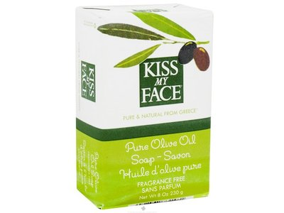 Kiss My Face Olive Bar Soap, 8 oz (3 Pack) - Image 1