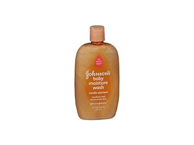 Johnson's Baby Moisture Wash, Vanilla Oatmeal, 15 fl oz