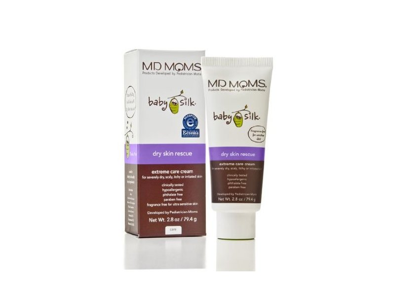MD Moms Baby Silk Dry Skin Rescue - Extreme Care Cream, 2.8 oz