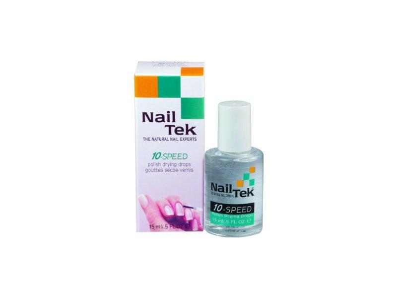 NailTek for all nail types 10-speed drying drops