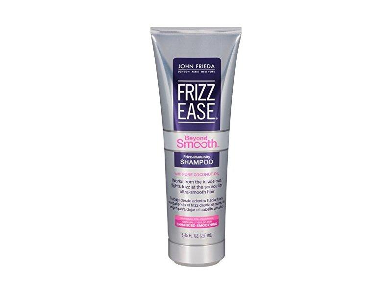 John Frieda Frizz-ease Beyond Smooth-Frizz Immunity Shampoo, 8.45 Fluid Ounce