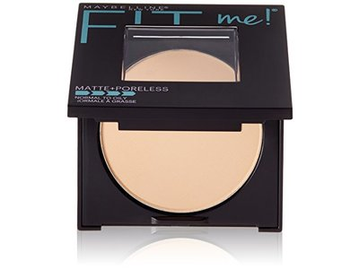 Maybelline New York Fit Me Matte + Poreless Powder, 220 Natural Beige, 0.30 Ounce - Image 1