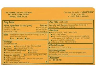 Johnson & Johnson Neosporin - Max Strength Antibiotic Cream 0.5 oz - Image 4