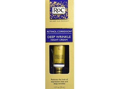 ROC Retinol Correxion Deep Wrinkle Night Cream, Johnson & Johnson - Image 4
