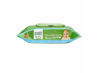 Seventh Generation Free & Clear Baby Wipes - Image 1