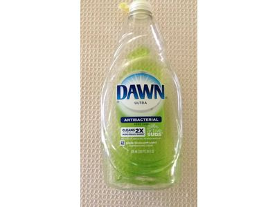 Dawn Ultra Antibacterial Hand Soap/Dishwashing Liquid, Apple Blossom, 24 fl oz (Pack of 10) - Image 3