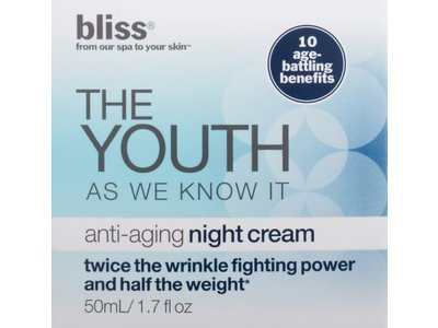 Bliss The Youth As We Know It Anti-Aging Night Cream, 1.7 fl. oz. - Image 4