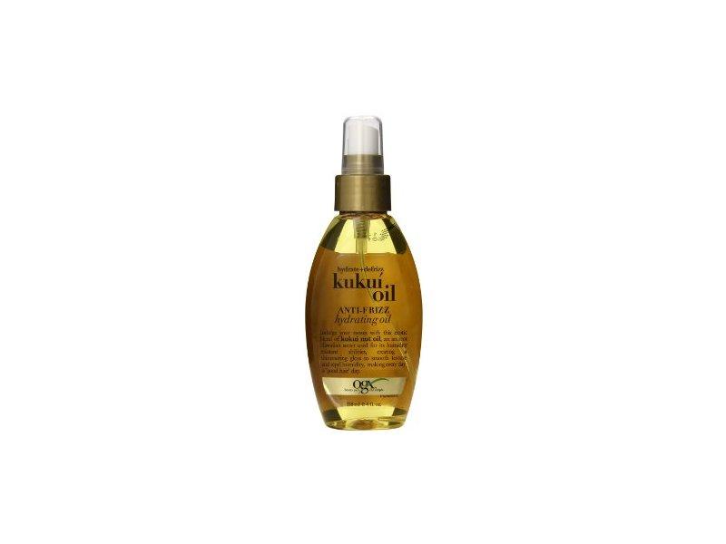 OGX Kukui Oil Anti-Frizz Hydrating Oil - 4 oz