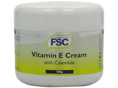 Food Supplement Company Vitamin E Cream With Calendula, 100 g