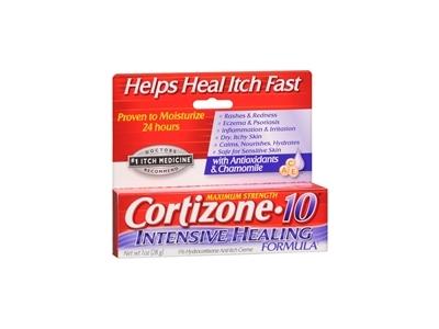 Cortizone-10 Intensive Healing Formula 1% Hydrocortisone Anti-Itch Creme, 1 Ounce