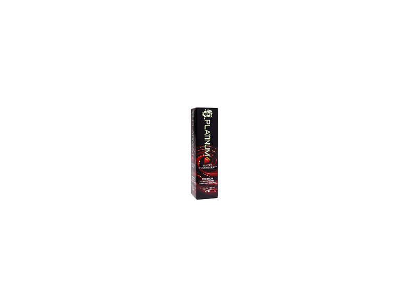 Wet Platinum Premium Concentrated Lubricant Serum, Sultry Strawberry