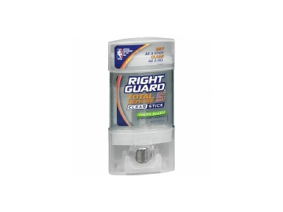 Right Guard Total Defense 5 Clear Stick, Antiperspirant & Deodorant, Fresh Blast, 2 oz