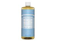 Dr. Bronner's 18-in-1 Hemp Baby Unscented Pure-Castile Soap, 32 fl oz - Image 1