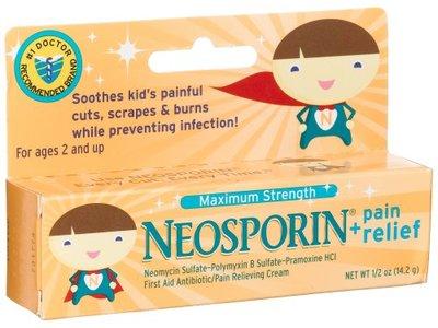 Johnson & Johnson Neosporin - Max Strength Antibiotic Cream 0.5 oz - Image 3