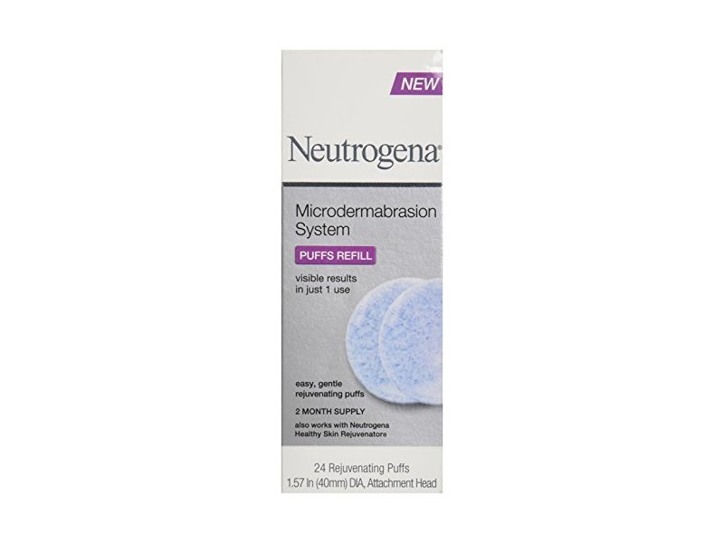 Neutrogena Microdermabrasion System Puff Refills 24 Count
