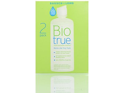 Biotrue Multi-Purpose Solution, 10 Ounce (Twin Pack)