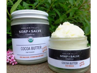 Chagrin Valley Soap & Salve Company Cocoa Butter Hair Whip, 2 oz
