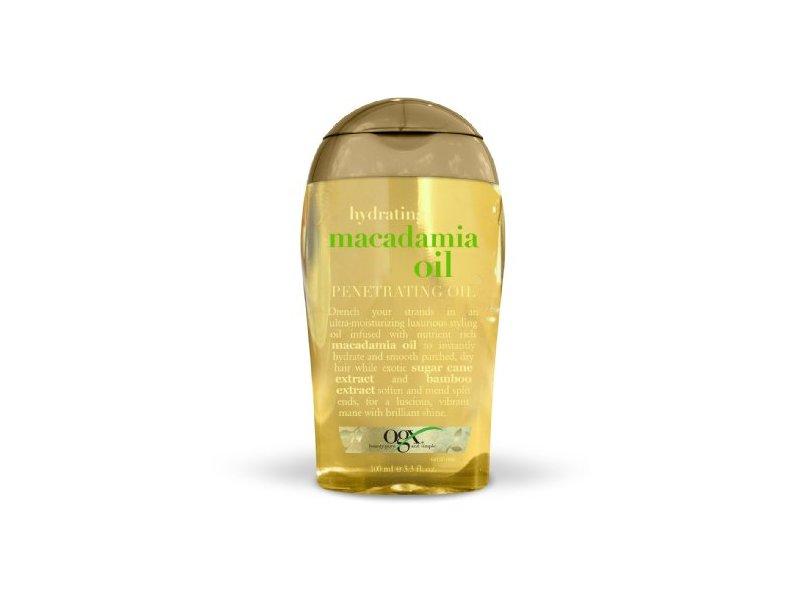 OGX Penetrating Oil, Hydrating Macadamia Oil, 3.3oz