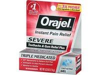Orajel Severe Toothache & Gum Relief Plus, Cooling Gel, 0.25 Oz - Image 3