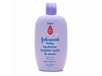 Johnson's Bedtime Bath Bubble Bath & Wash, Johnson & Johnson - Image 1